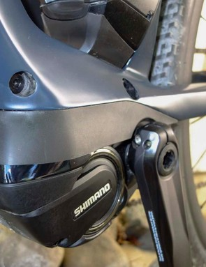 The low-slung Steps motor is fairly inconspicuous and helps the bike's centre of gravity