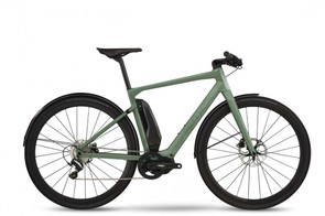 The Alpenchallenge AMP City LTD is a carbon fibre, sleek, powerful daily rider