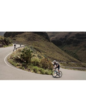 Testing out Centaur's climbing ability in the mountains of Gran Canaria