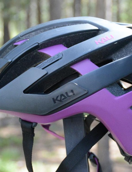 Kali's Interceptor helmet fits well, has good ventilation and saved my noggin