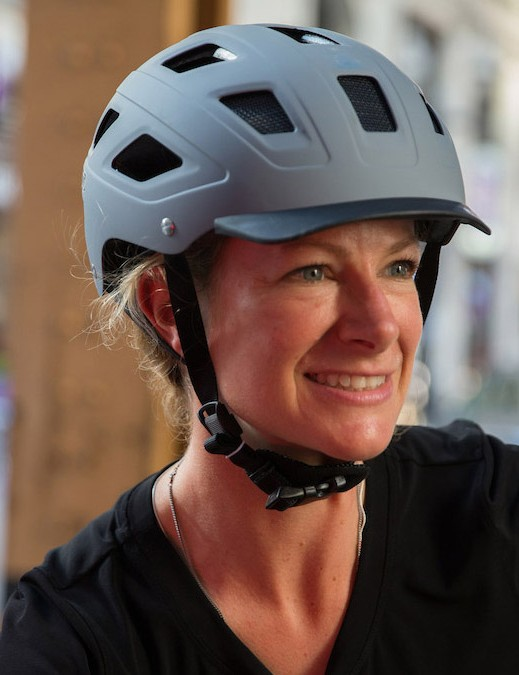 Urban styling meets safety with Abus's Hyban helmet