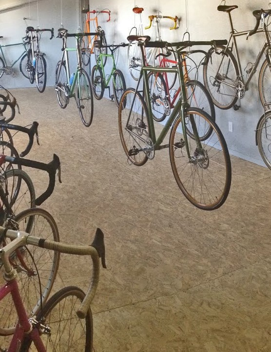 Included in the sale is the complete collection of Gordon's personal bikes