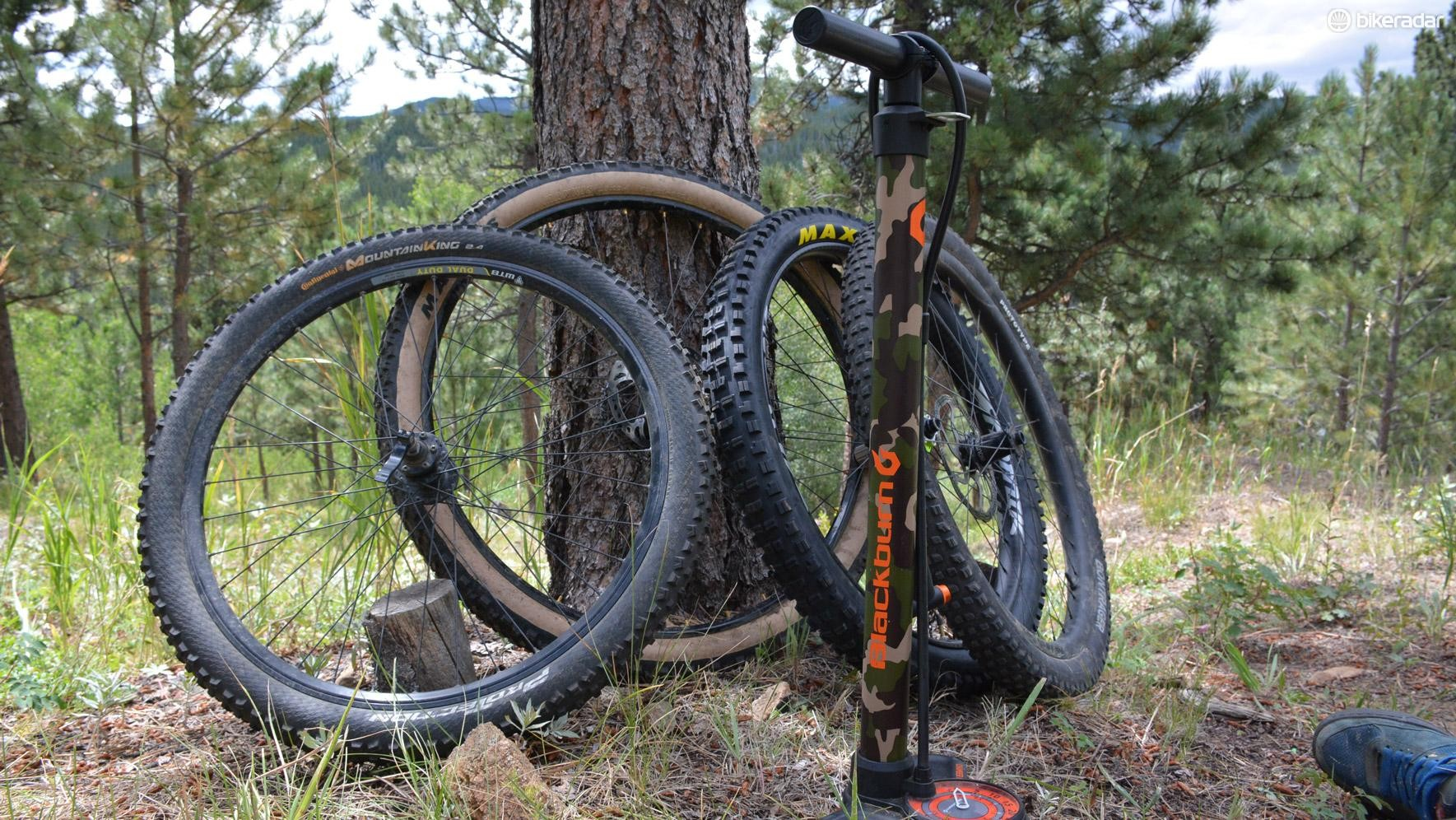 The Chamber HV makes quick inflation work of everything from 26in to full-on fat bike rubber