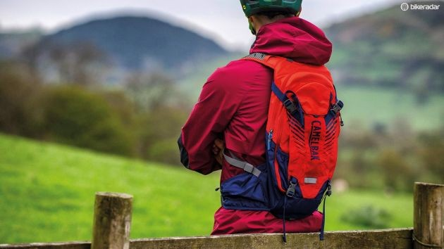 Hydration packs come in a variety of sizes, colors and added features