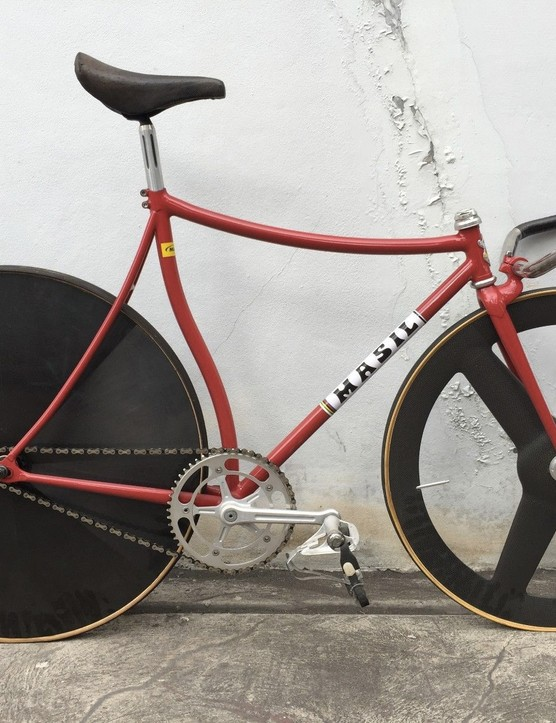 This Masil track bike is an example of a lo-pro bike