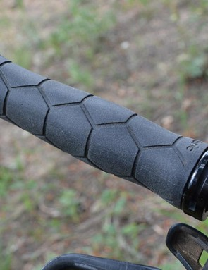 The subtle shaping adds comfort without distracting when the riding gets aggressive