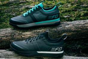 Specialized has broadened its flat pedal shoe offering to include two different models — the 2FO 1.0s seen here are slightly cheaper and have more of a trail riding focus