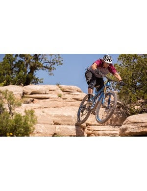 CEO and President of Pivot, Chris Cocalis, rips on the trails and his bikes show that expertise