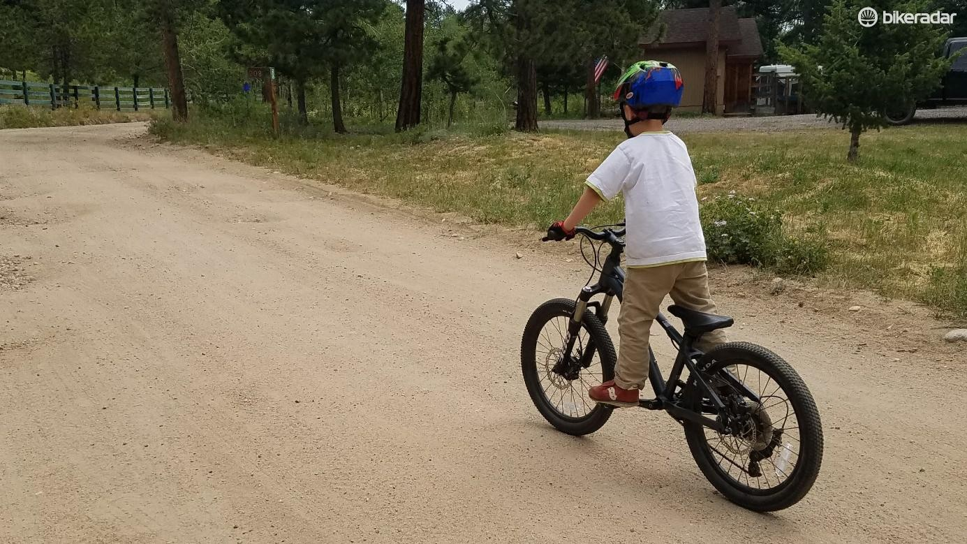 It was pretty incredible how different kids were able to hop on the Prevelo and immediately feel comfortable