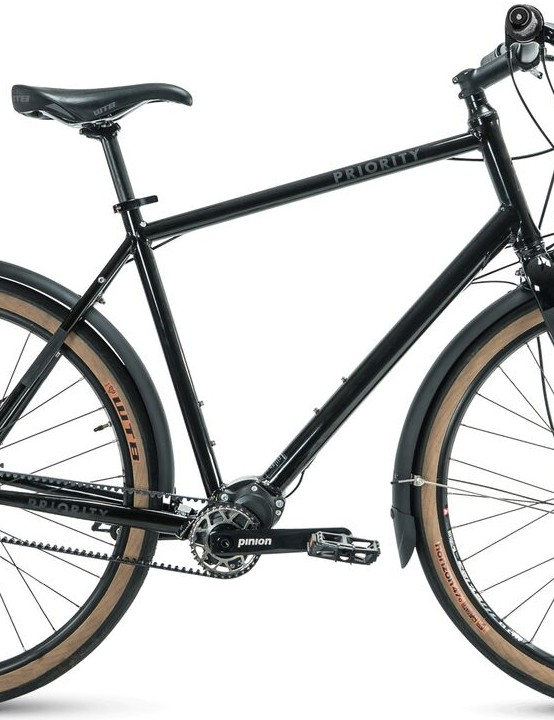 Urban utility is covered with the fenders, rack braze ons, and reflective accents