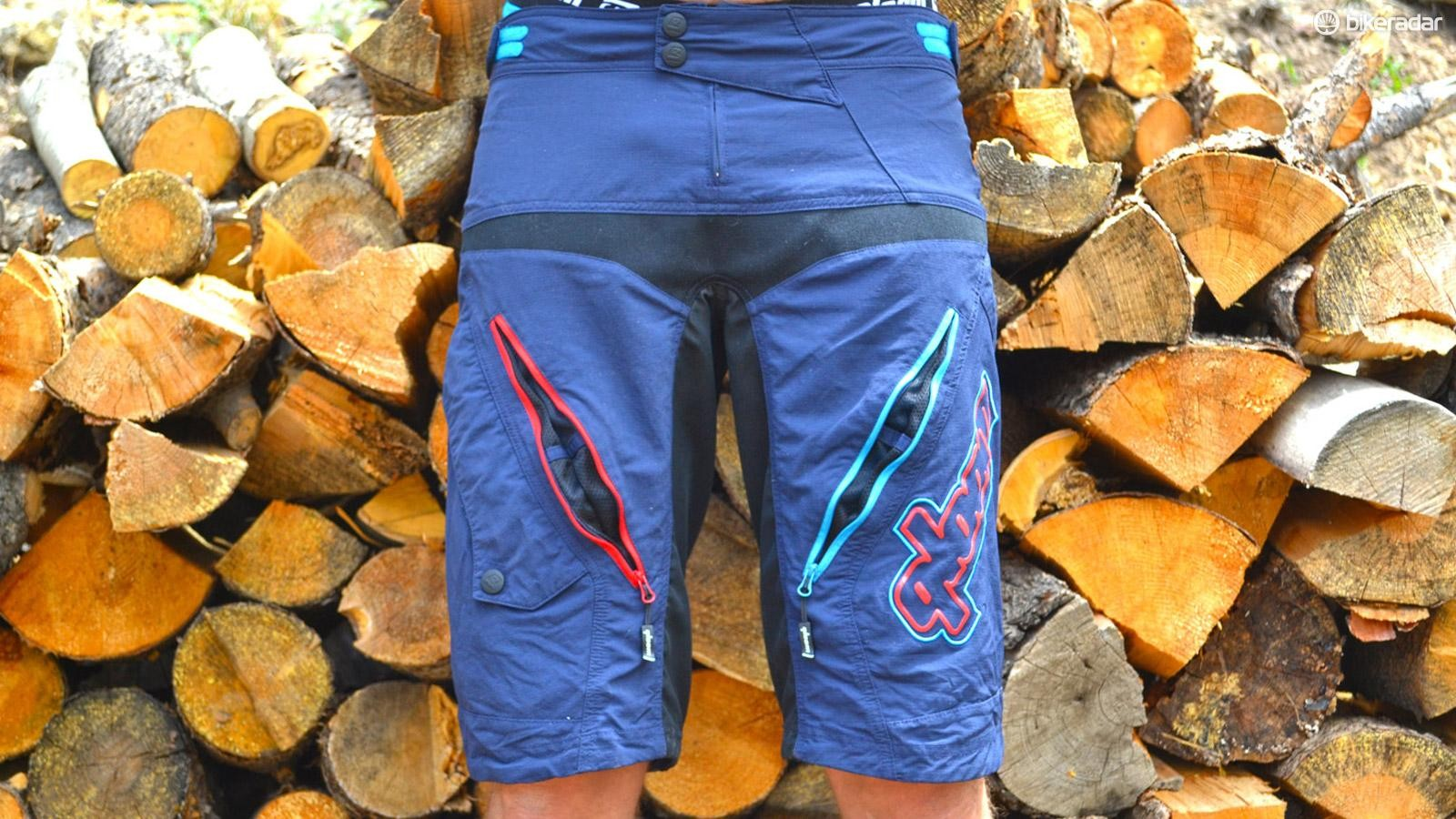 Surf the trail and mellow out with Qloom's surf-inspired Avalon shorts