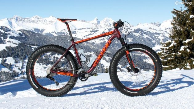 Many riders think of snow when they see a fat bike, but they're much more versatile