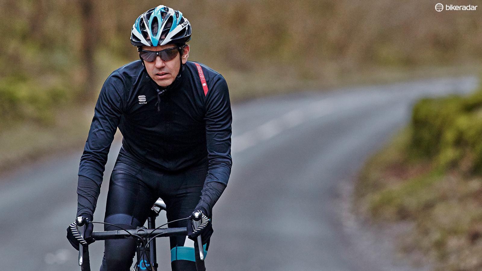 A serious cyclist