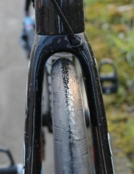 Wider tires on road bikes are easier to ride and actually faster; talk about a win/win