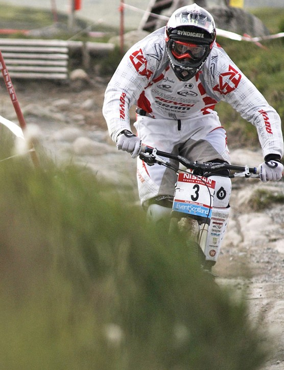 Steve Peat still wowed the crowds with his podium finish