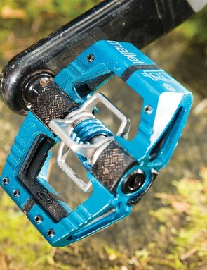 The CrankBrothers Mallet E has unrivalled mud clearing capabilities