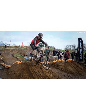 ...or if that failed you could try your luck on the dual-slalom course