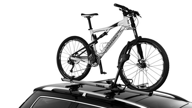 Roof-mounted bike racks require a factory roof rack or aftermarket base bar system