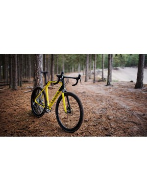 The new Inflite CF SLX is certainly distinctive and should be a hit on the race circuit this winter