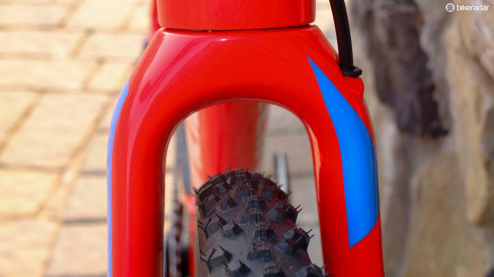 No lack of tyre clearance with 33mm CX rubber fitted