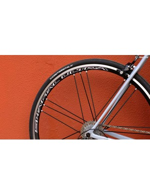 The Shamal Ultra C17 is available in Campagnolo or Shimano/SRAM fit