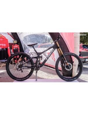 This Session 29er, located right next to the entrance gates, was attracting a lot of attention