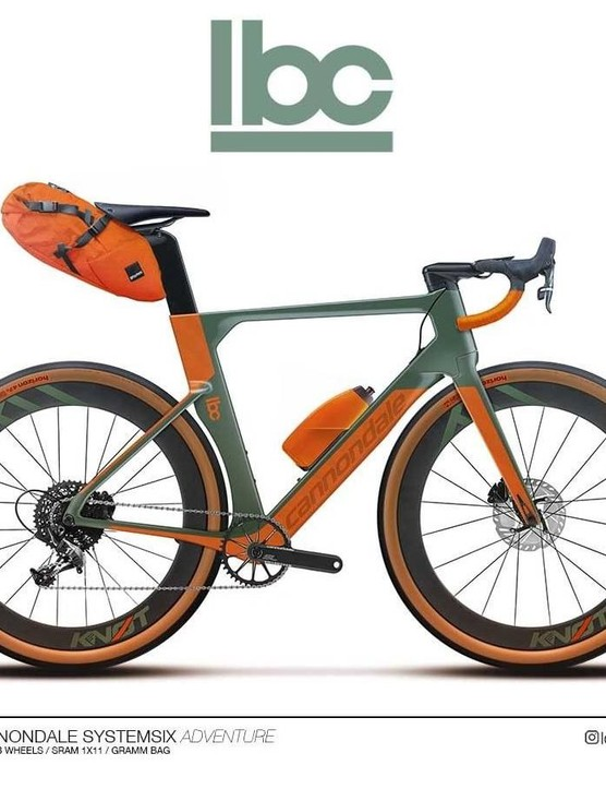 A bikepacking aero bike? Sure, why not.