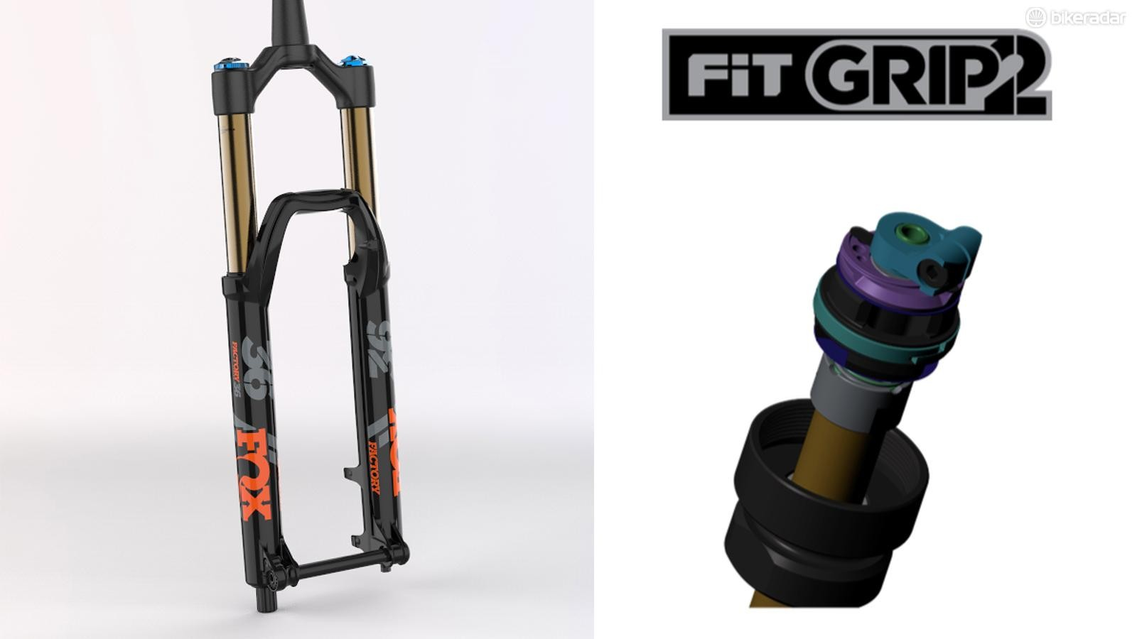 Fox has replaced the RC2 damper with the GRIP2