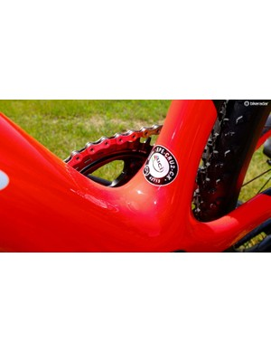 The new CruX is already UCI-approved for the biggest races