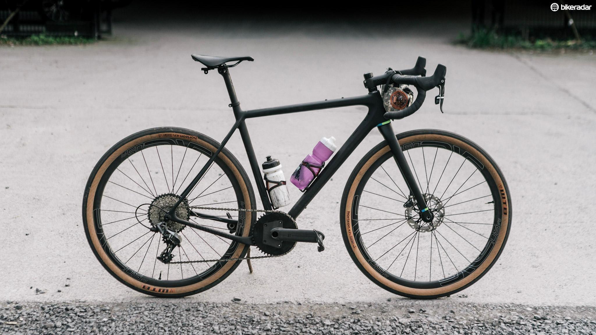 My Open UPPER just before the Paris-Roubaix Challenge