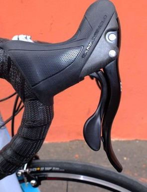 A more rounded hood makes the horn more accessible to riders looking for a stretched arms forward position