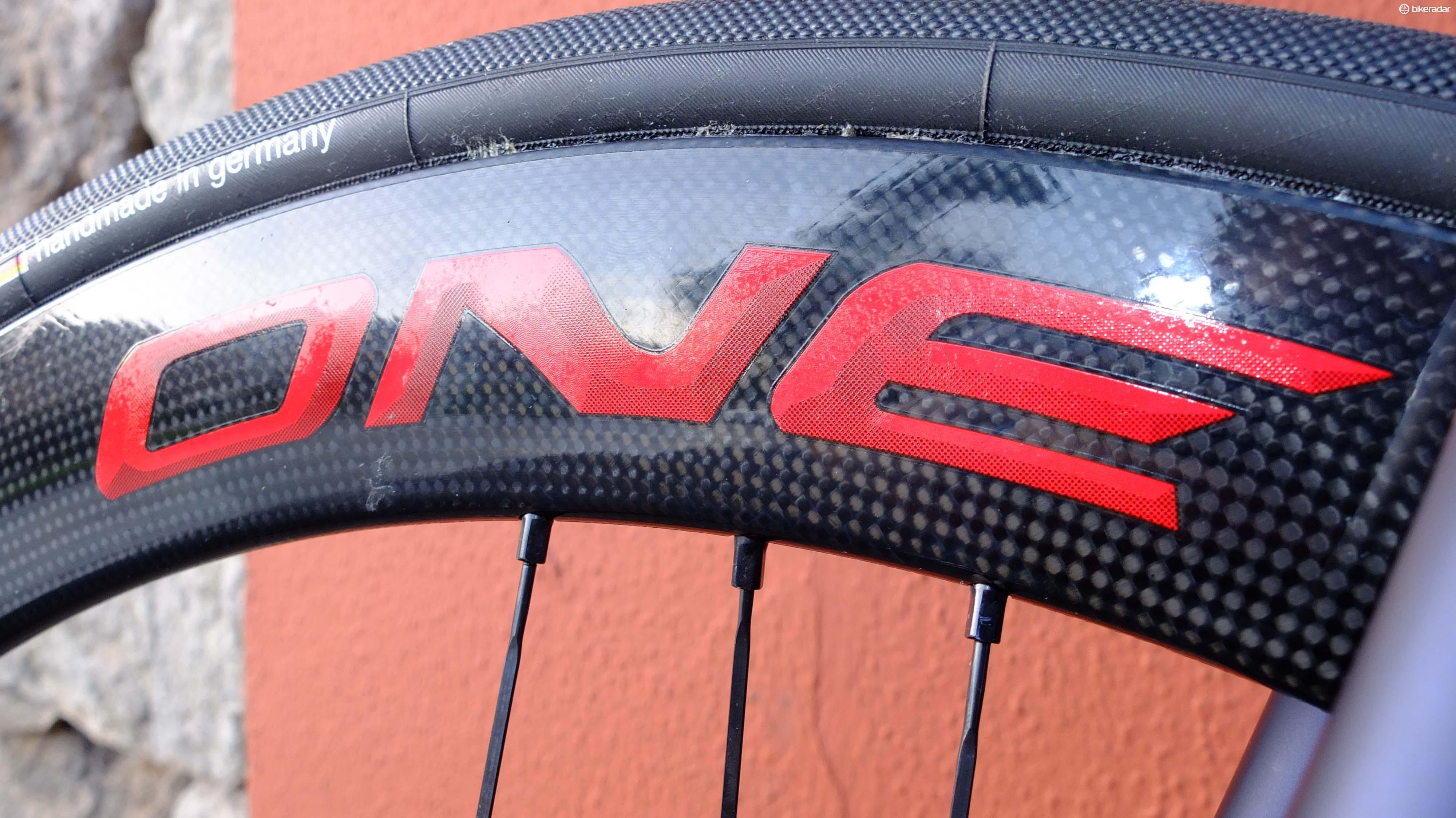 Campagnolo says this smooth, shiny, protective finish is a result of its moulding process