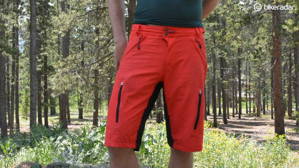Fly Racing's Warpath shorts tick all the mountain-bike boxes with venting, pockets and knee-pad friendly length