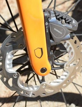 Disc brakes on road bikes allow for bigger tires, lighter rims and more confidence in every weather condition