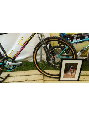 The Yeti C-26 was ridden at the 1990 World Championships in Durango, Colorado by Juli Furtado and John Tomac