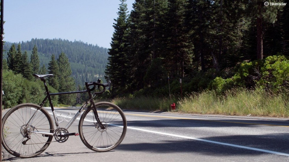 The roads around Northstar Resort in California are a pretty okay testing ground