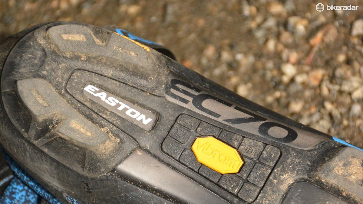 Easton's EC70 carbon provides the pedal pushing stiffness