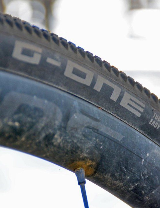The G-Ones say Tubeless Easy right on them and they actually were