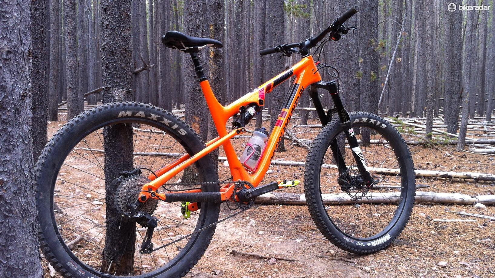 Plus size tires give the Pipeline a huge dose of confidence