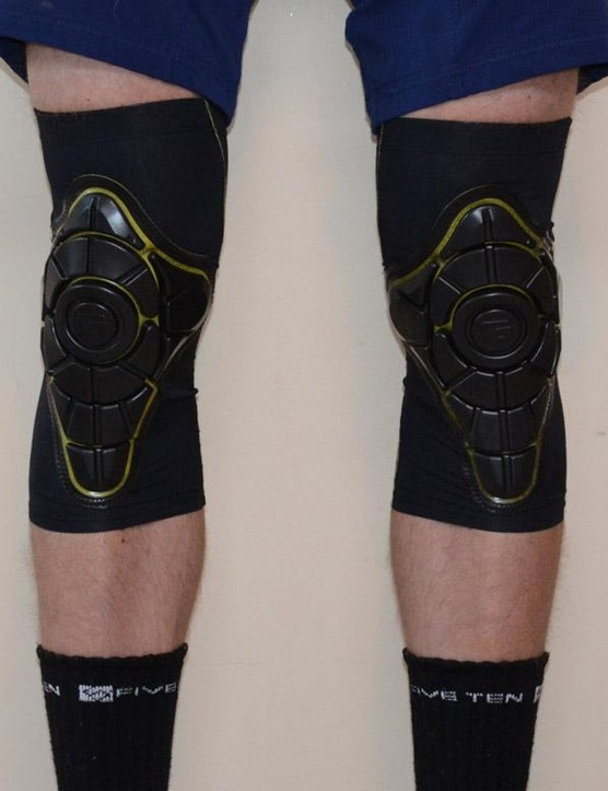 Similar to knee warmers but with some added protection