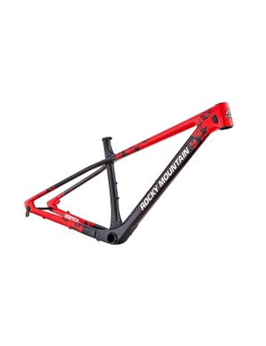 A full carbon frameset is available to create your own dream build