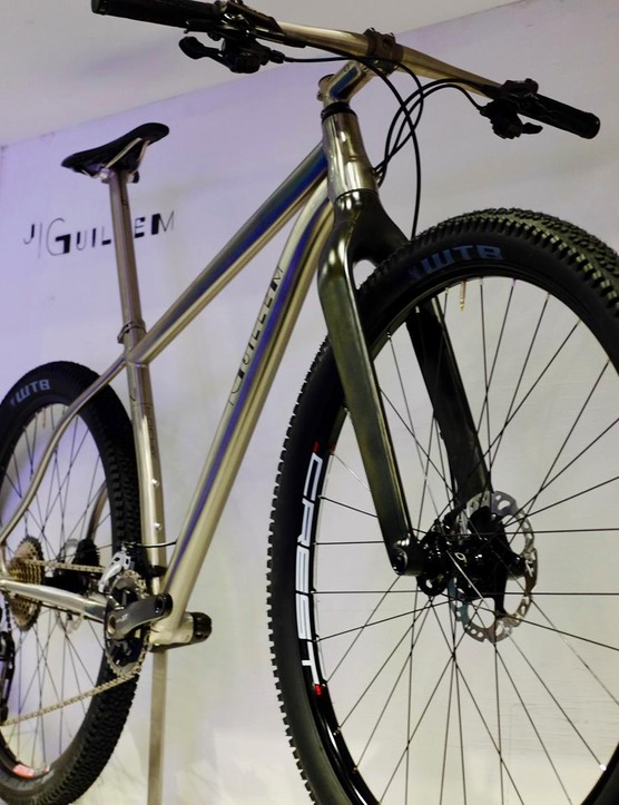The Tomir is a titanium cross-country machine