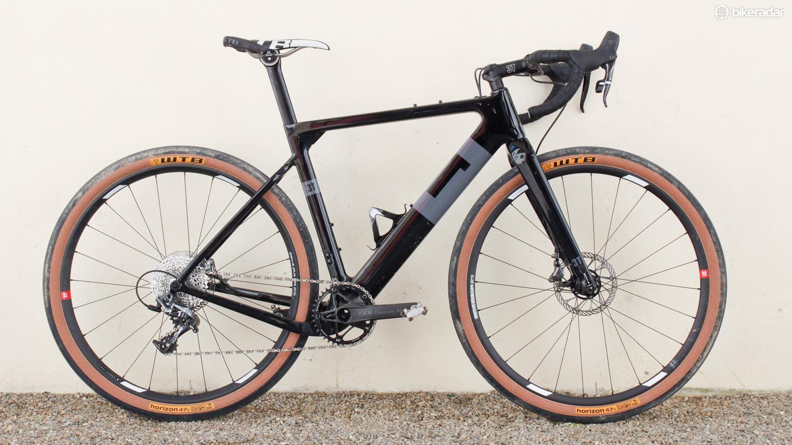 The Exploro test bike