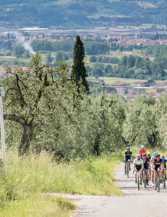 The hills of Tuscany were an ideal proving ground