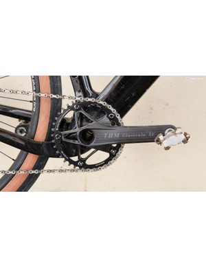 Newly acquired brand THM Carbones provided their ultra-light Clavicula SE cranks