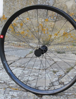 The Discus Plus C30W Team (front only shown here) is even wider, and sports a lovely looking carbon rim