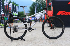 The Saturn-11 is Nicolai's new XC/Marathon bike, and it somewhat breaks the mold