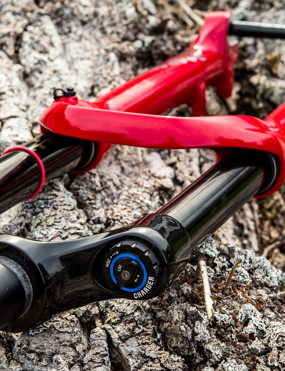 The RC2 damper offers five high-speed compression settings but no pedal or lockout modes