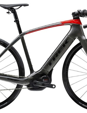 The Trek Domane+ is the brand's first foray into the world of e-road