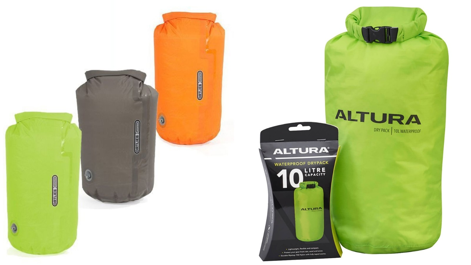 Drybags are a great way to keep your stuff safe, and make great pillows